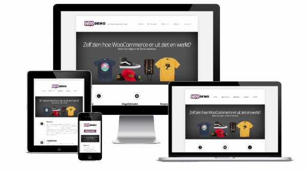 responsive webshop